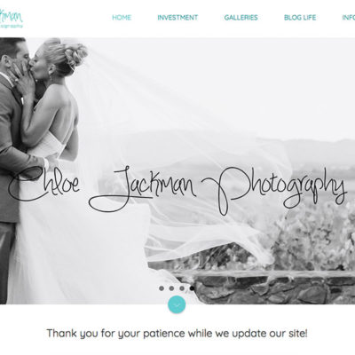 Wedding Image for Chloe Jackman Photography