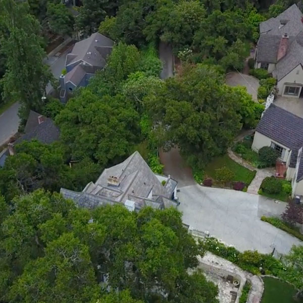 Aerial Video of Homes in Piedmont