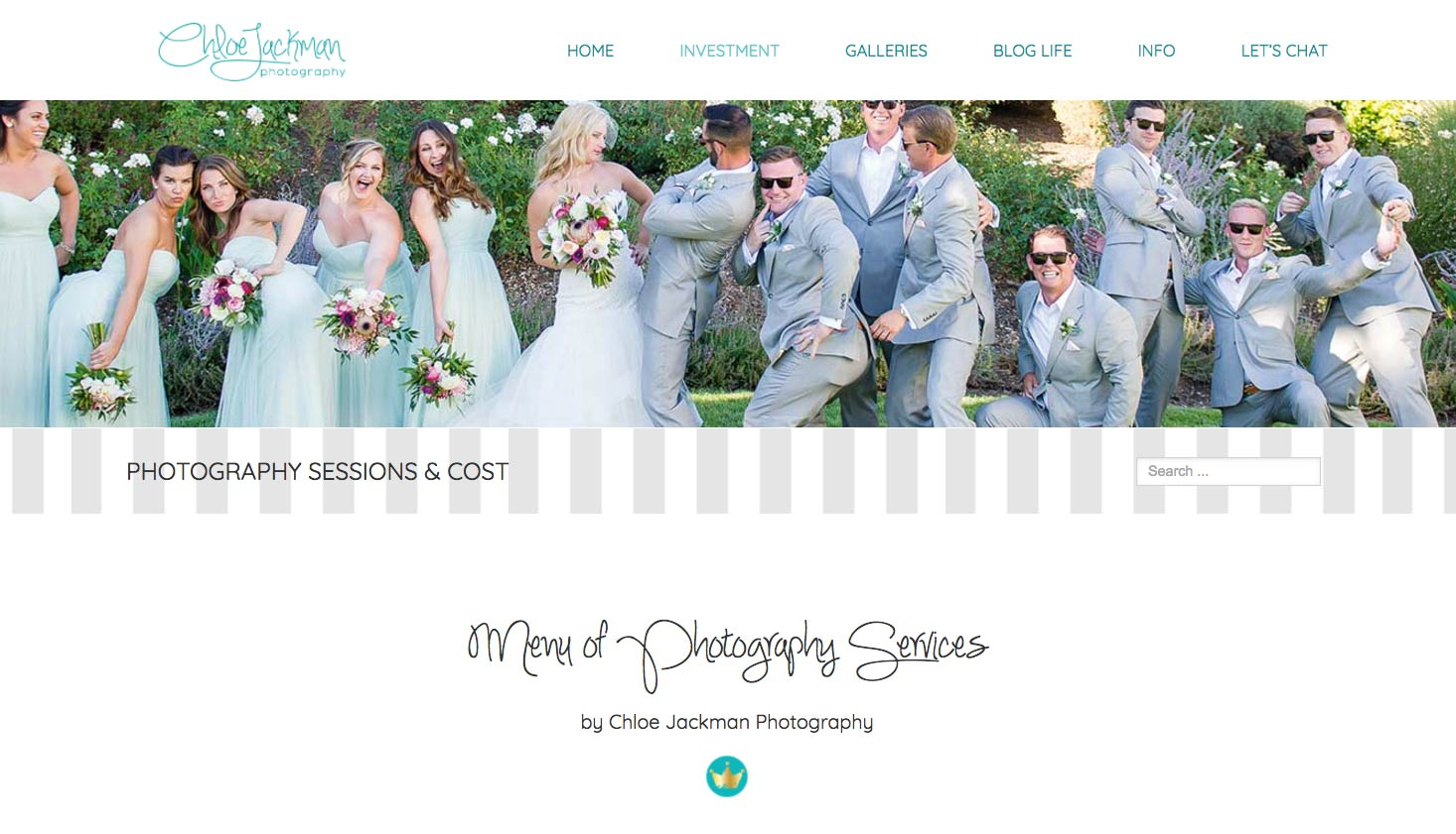 Image & Banner of Wedding Party