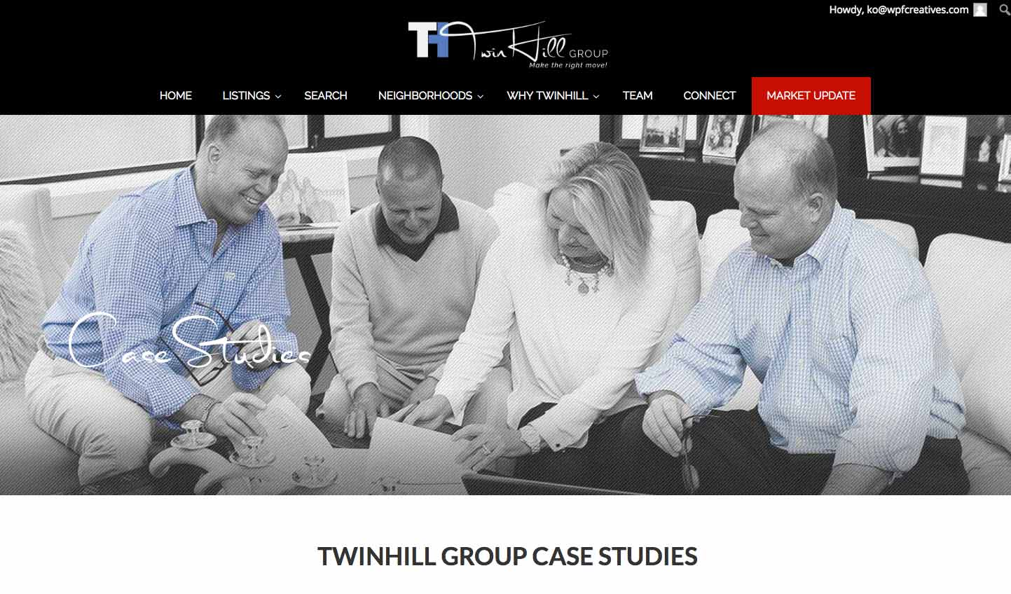 TwinHill Group Case Studies Page