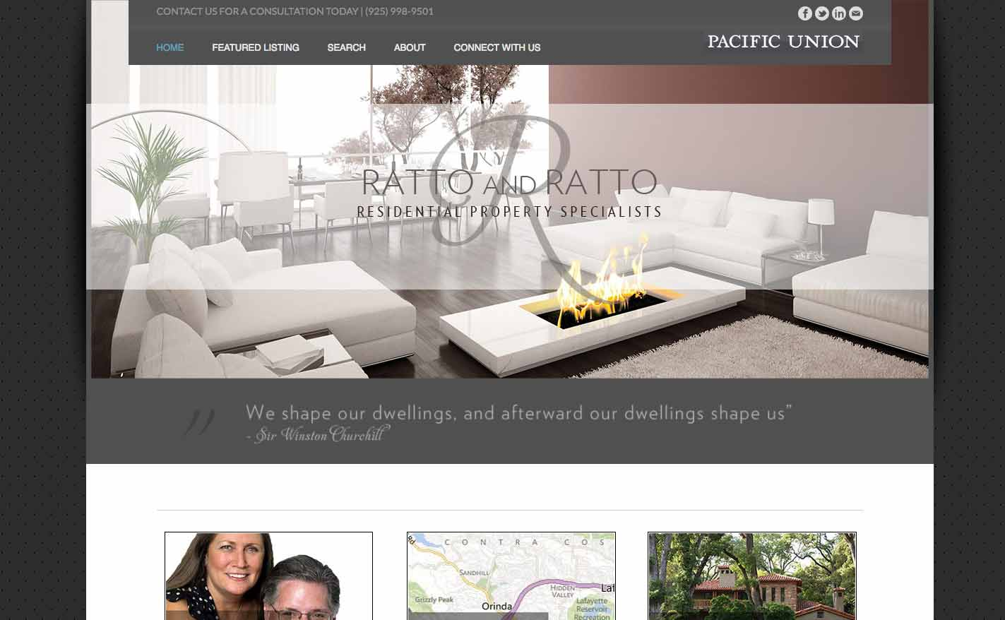 Ratto and Ratto Website by WPF Creatives