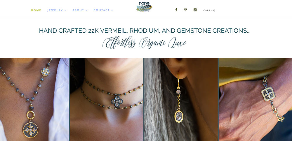 Images of Jewelry on Models
