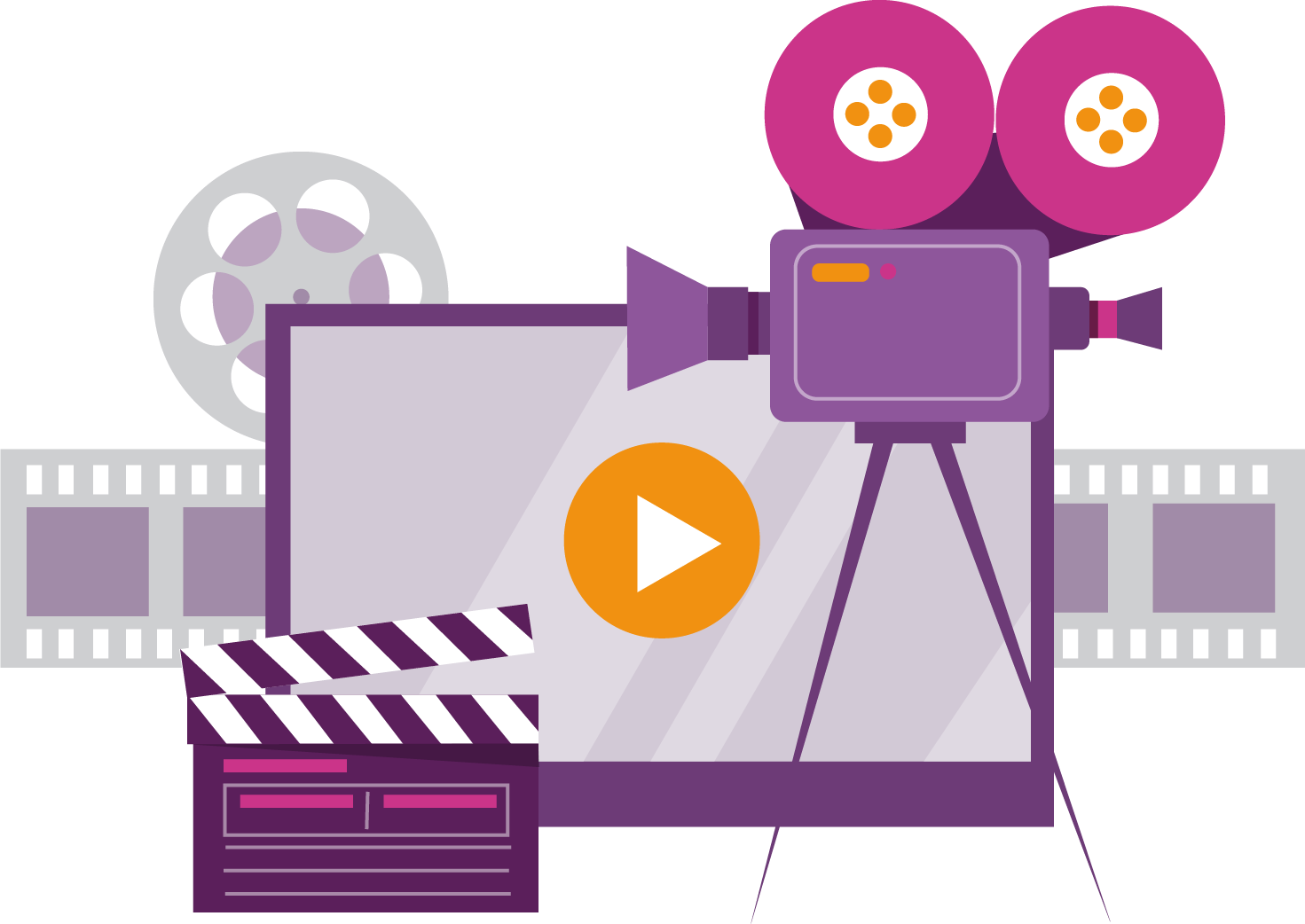 WPF Creatives icon for video