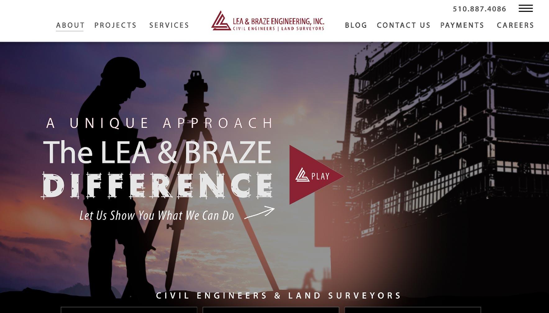 2020 homepage