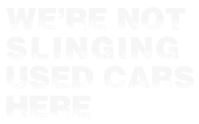 WPF Creatives We're not slinging used cars here