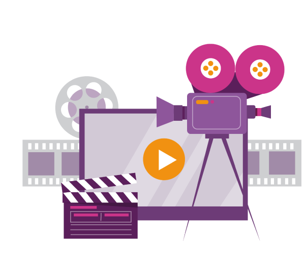 WPF Creatives icon for video production