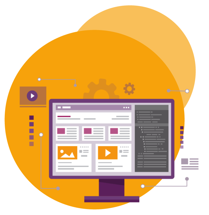 WPF Creatives icon for web design